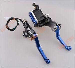 For-Suzuki-RM-z-DR-85-125-250-450-7-8-034-Brake-Master-Cylinder-Reservoir-levers