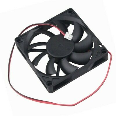 1x 80mm 80x80x15mm 8015S 8CM Brushless DC Cooling Cooler Fan 2Pin 5v 30 CFM