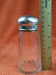 Antique .800 Solid Silver Continental Large Sugar Shaker C1900