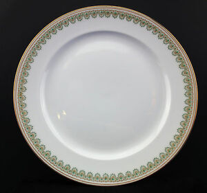 Image is loading Antique-GDA-Limoges-Art-Nouveau-Dinner-Plates-circa- & Antique GDA Limoges Art Nouveau Dinner Plates circa 1904-1914 Set ...