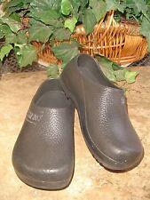 BIRKI'S by BIRKENSTOCK BLACK RUBBER FOOTWEAR CLOGS SANDALS**SIZE 7 US**38 EUR