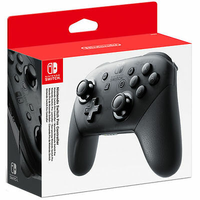 Official Nintendo Switch Wireless Pro Controller (Black)