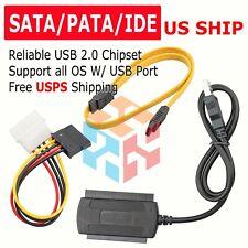NEW USB 2.0 to Serial ATA eSATA SATA Converter 2 ports card adapter