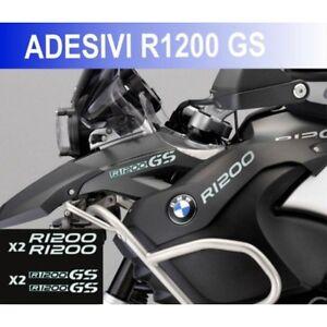 KIT-ADESIVI-BMW-R-1200-GS-STICKER-BICLORE-R1200GS-ADESIVO-BIANCO-ARGENTO-CARENA