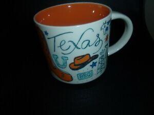 STARBUCKS TEXAS  Been There Series NEW Collection 14 oz Mug NEW