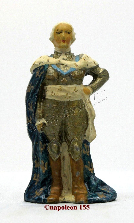 Figurine, Soldat de Plomb Ancien greenUNNI. LOUIS XV
