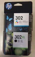 Kit  Cartuccie HP 302  B/N XL(480 pagine)  e 302 Colore Originali