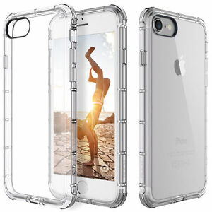 Fits Iphone 7 Case Ultra Slim Thin Clear Tpu Silicon Soft Back Cover  741271591506