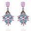 Elegant-Fashion-Women-Rhinestone-Resin-Flower-Ear-Stud-Dangle-Earrings-Jewelry thumbnail 3