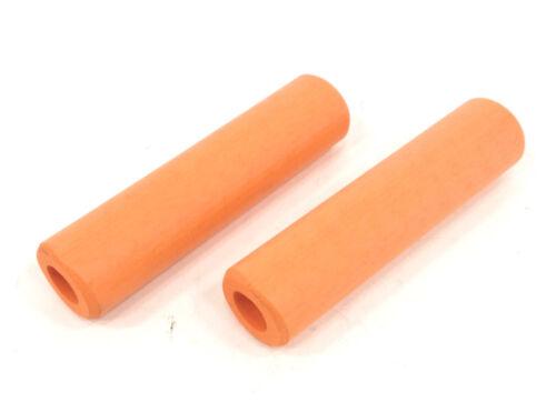ESI EXTRA Chunky 34mm Soft Bike Grips 130mm Lightweight 80g MTB Orange