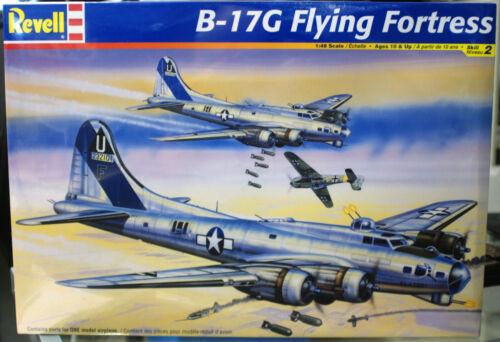 B 17 G Flying Fortress WW II Bomber 1:48 Revell 5600