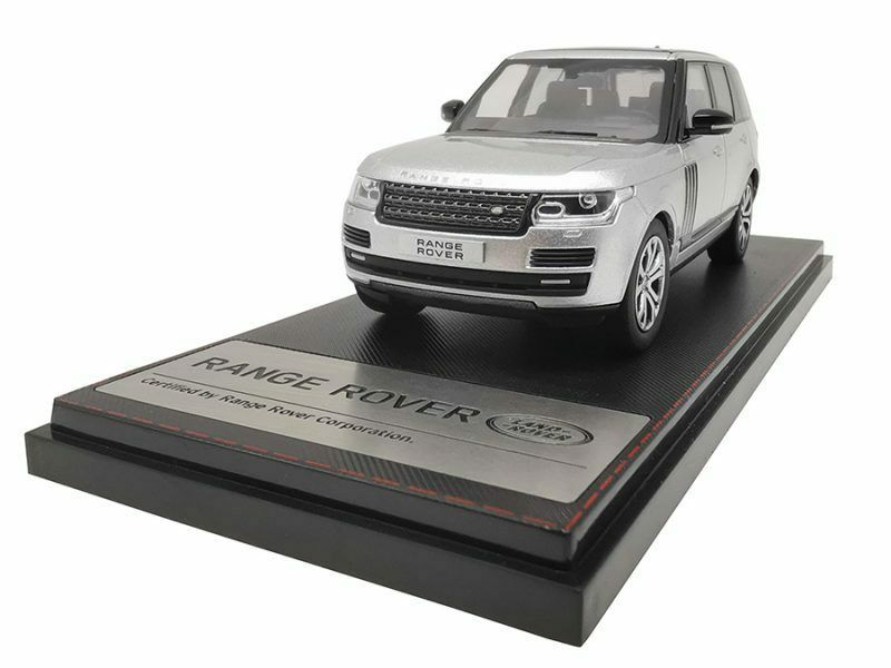 Range Rover Sv Autobiography Dynamic 2017 plata 1 43 Model LCD MODELS