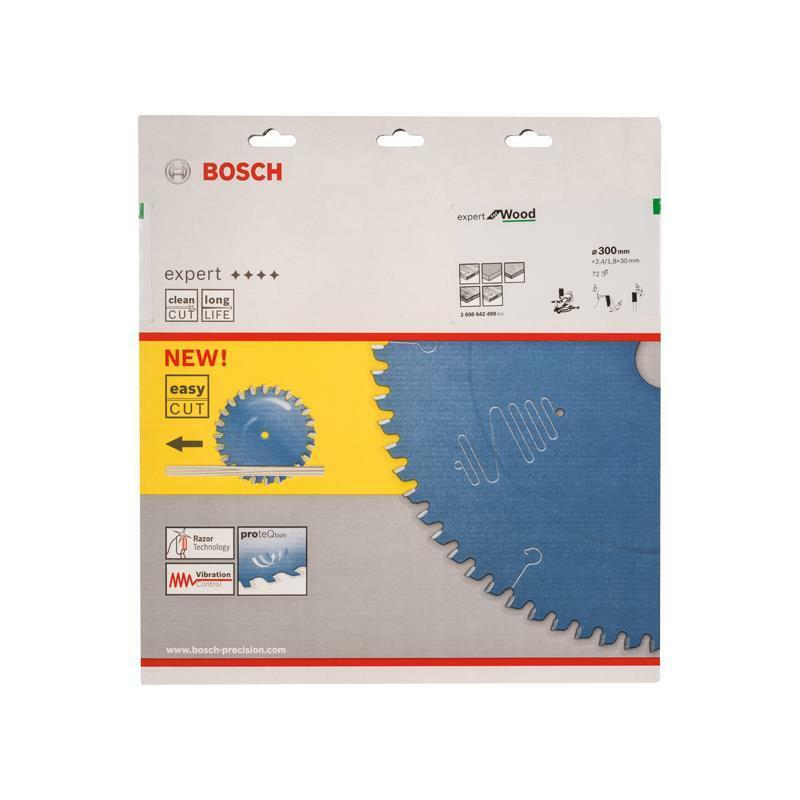 Bosch HM Sägeblatt Expert for Wood 300x30x2,4mm Z=72