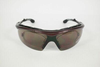 Chiemsee Mod. 638 C3 74 [] 19 Rosso Marrone Mezza Bordo Occhiali Da Sole Sunglasses Nuovo-mostra Il Titolo Originale Alleviare Reumatismi E Freddo