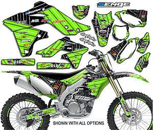 2013 2014 2015 kxf 450 graphics kit kawasaki kx450f kx f 450f deco decals moto ebay