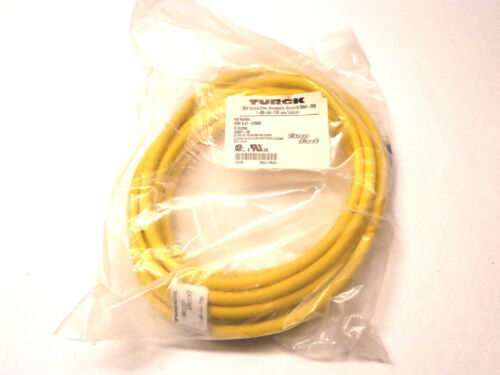 Details about  /Turck WKE 4.4T-5//S600 Euro Fast Connector Cable U0901-18