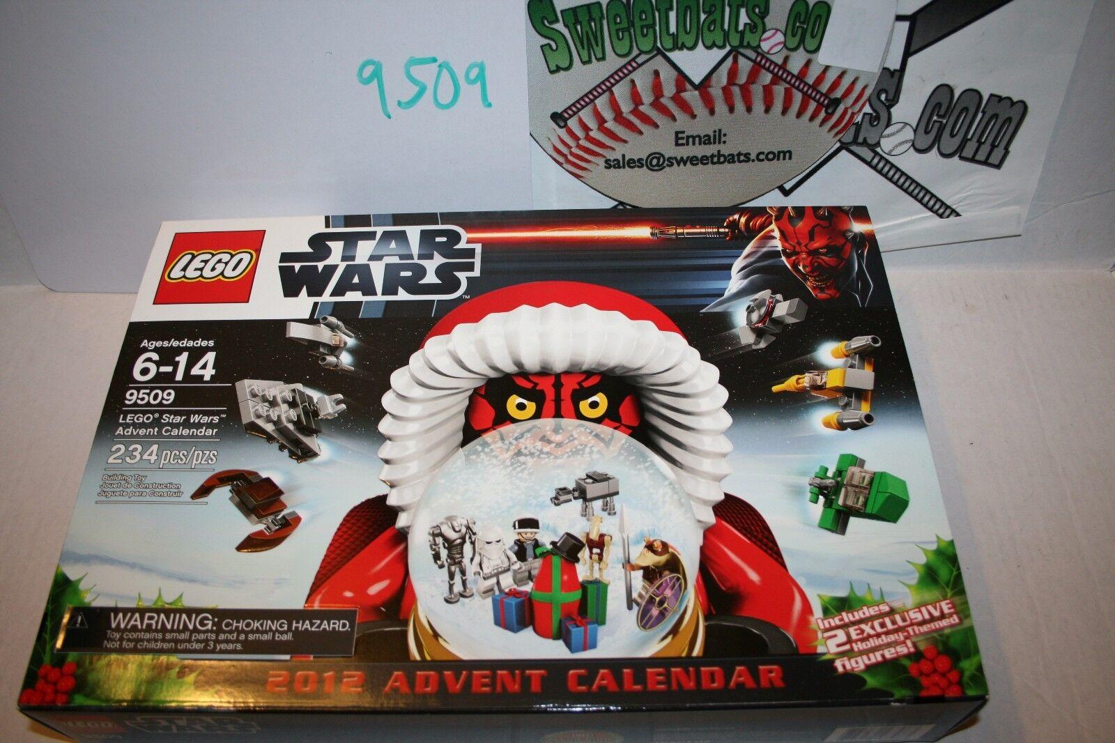 Lego Star Wars 9509 2012 ADVENT CALENDAR Neuf dans sa boîte NEW IN BOX retraité sold out Darth