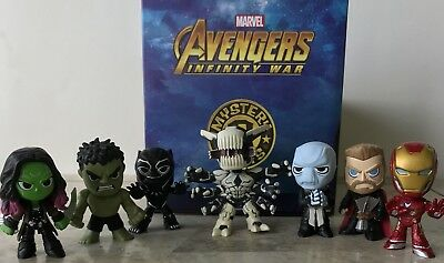 Avengers Infinity War Bobble-Head Mystery Minis Vinyl Figures Ebony Maw 1//6