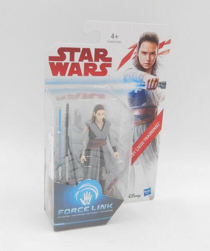 "MOC Neu//OVP Hasbro STAR WARS Force Link Rey Actionfigur 3.75/"" Jedi Training"