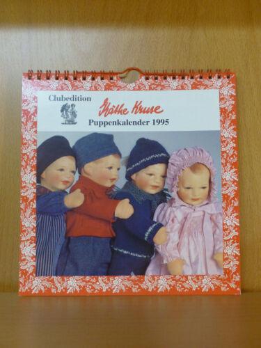 Käthe Kruse Clubedition Puppenkalender 1995