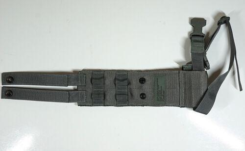 New Pistolman Set 4x 9mm Magazine Mag Pouches /& Leg Extender MOLLE II ACU