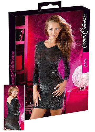 58644e78cacd Mini Abito Nero Sharon Tg S m Cottelli Collection Lingerie shop erotica XXX