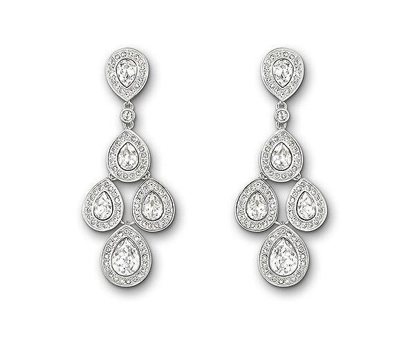 9b355a6fe Swarovski Signed Crystal Sensation Pierced Earrings 1156254 a for sale  online | eBay