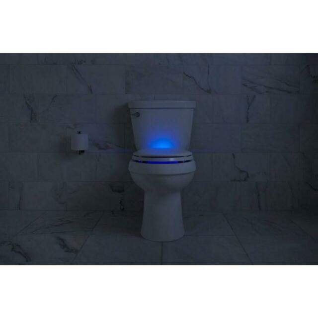 Excellent Kohler Led Night Light Slow Soft Close Elongated Closed Front Toilet Seat Cover Dailytribune Chair Design For Home Dailytribuneorg