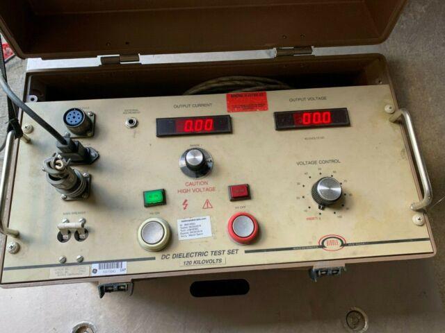Biddle Instruments Dc Dielectric Test Set 220123 120kv For Sale Online