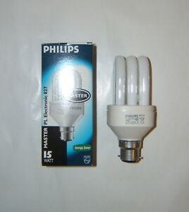 Lampe-Ampoule-PHILIPS-PL-Electronic-827-15-W-240V-B