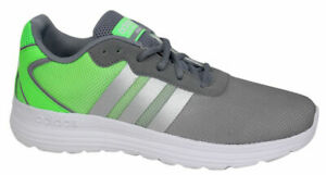 Details about Adidas Neo Cloudfoam Speed Mens Running Trainers Shoes Grey Green AQ1433 B55C