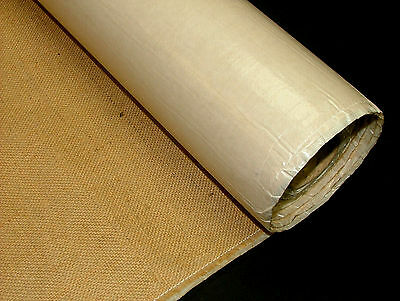 Self Adhesive Sticky Backed Jute Hessian Fabric - Craft - School - Noticeboard