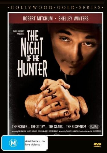 1 of 1 - The Night Of The Hunter (DVD, Brand New)