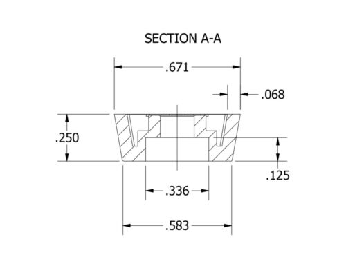 CUTTING BOARD  FREE S/&H 80 SMALL RUBBER FEET BUMPERS w// SCREWS  .671 W x .250 H