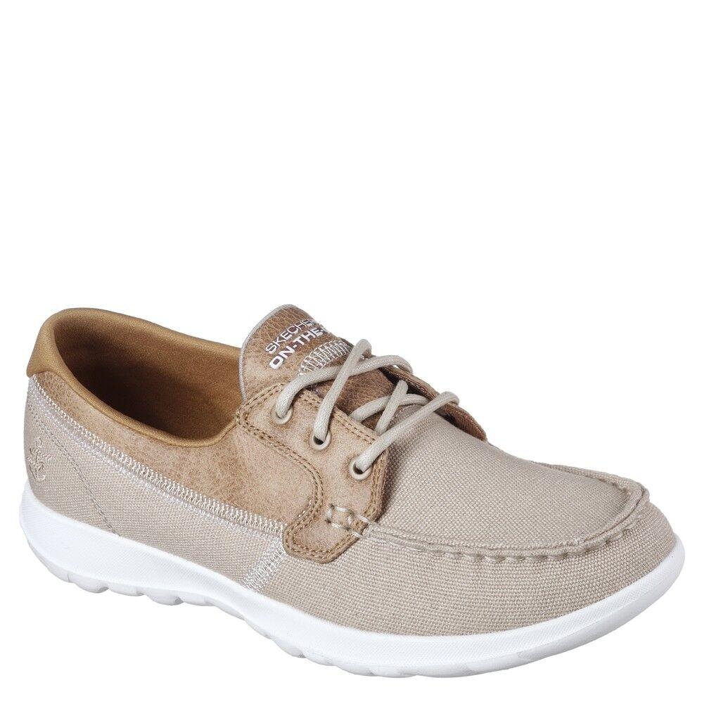 Women's Skechers GO LITE BOAT 15430 Natural Shoes
