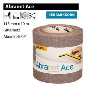 MIRKA ABRANET ACE Reel 115mm x 32.81ft Network Abrasive mesh Touch fastener