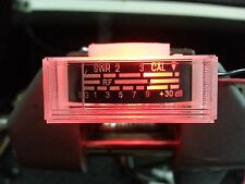NEW COBRA,UNIDEN CB RADIO S RF WITH SWR POWER REPLACEMENT METER & 5MM RED LED