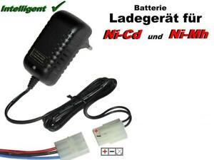 TOP Ladegerät für Ni-Mh / Ni-Cd Akkupacks von 3.6V-12V mit 3 fach Tamiya Stecker