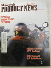 Motorcycle Product News, Nov 1988, Polaris Notches ATV Decision,   Blue box 2