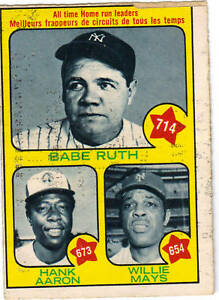 1973-O-Pee-Chee-1-HR-Leaders-Card-Aaron-Ruth-amp-Mays