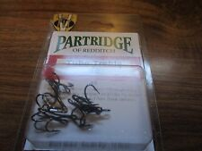 10 TUBE FLY TREBLE PARTRIDGE HOOKS HEAVY WIRE CODE X5 SUPPLIED BY FLYMAKERS
