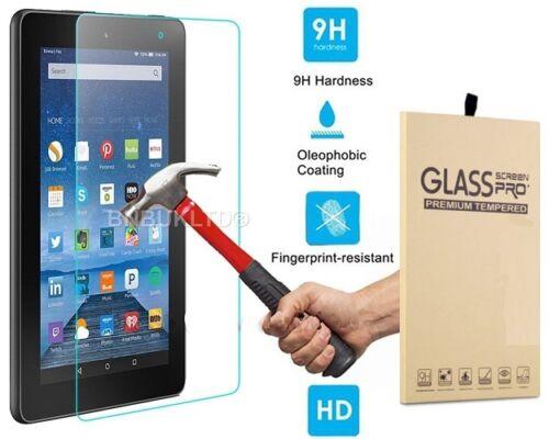 2 X Protector de Pantalla de Vidrio Templado Para Amazon Kindle Fire HD 7 2015