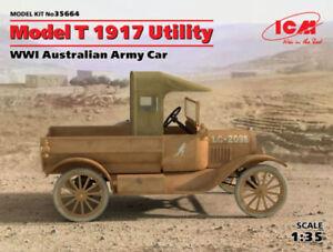 ICM-FORD-modelo-T-1917-Utility-Car-GMI-AUSTRALIA-Ejercito-1-3-5-Kit