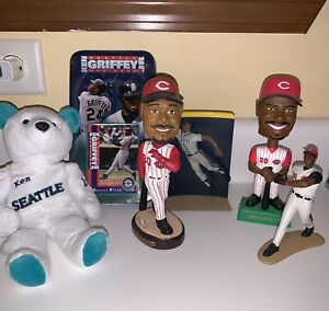 Ken-Griffey-Jr-Bobblehead-Cincinnati-Reds-Seattle-Mariners