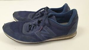 Details about N9 MENS NEW BALANCE 410 BLUE CANVAS LACE UP RUNNING TRAINERS SIZE UK 9 EU 43
