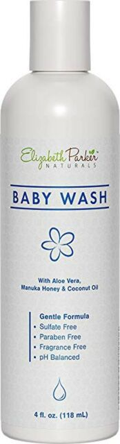 Baby Wash for Eczema Sensitive Skin and More - 4oz