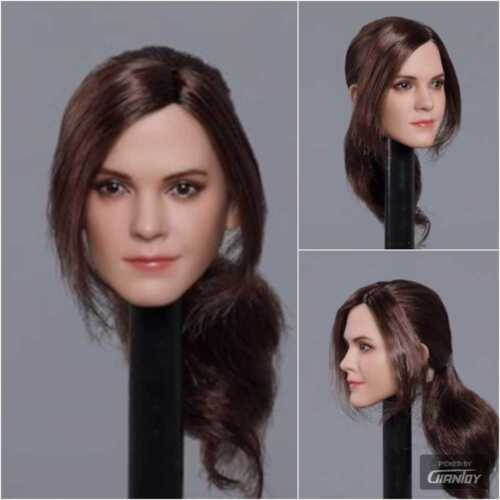 1//6 Hermione Emma Watson Female Head C H#Suntan For Hot Toys Phicen Body