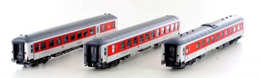 LS Models-h0-dc - 49057 vagoni-Set 3 pezzi CNL DB-AG ep6 cometa Set B