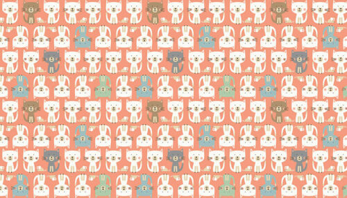 metres.Sewing Makower CATS PARADE PINK cotton fabric FQs,1//2 metre patchwork