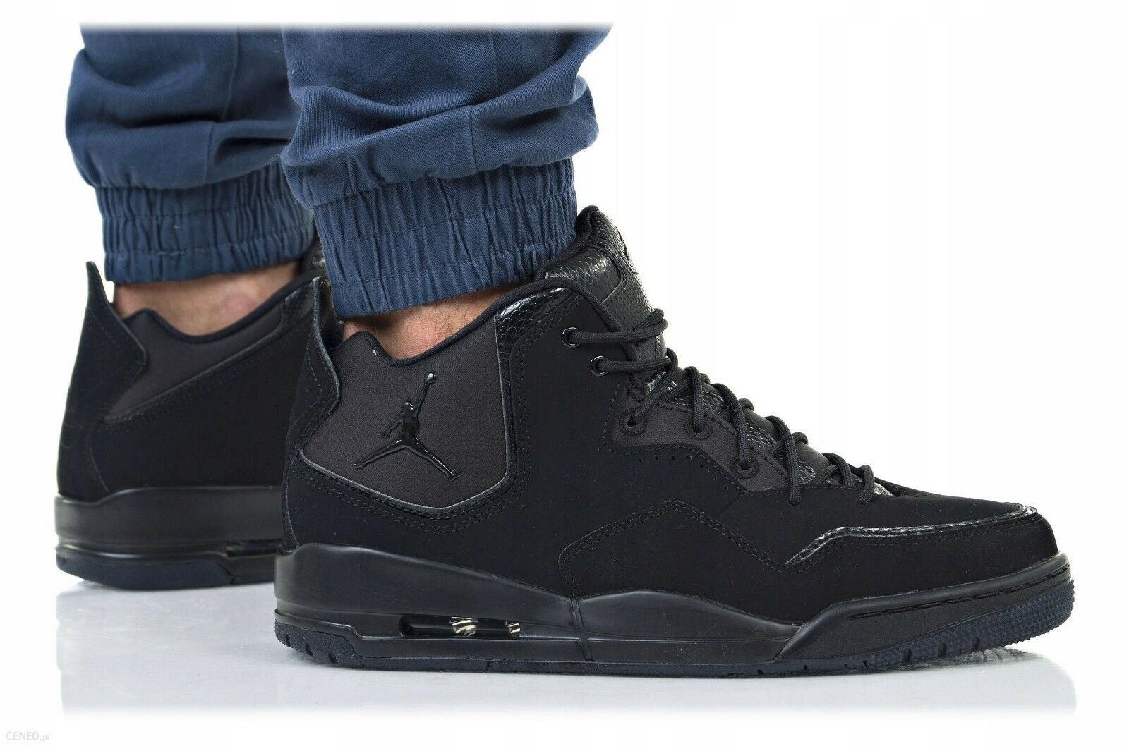New AIR JORDAN Courtside 23 Sneaker Mens triple black all sizes